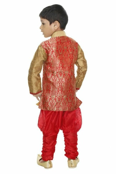 Attractive Ethnic Kid's Boy's Sherwani Dress