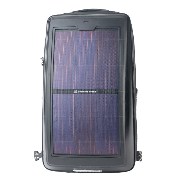o.  Infinity solar photovoltaic backpack Black