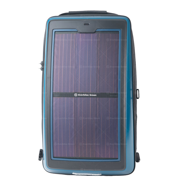r.  Infinity solar photovoltaic backpack Mineral Blue