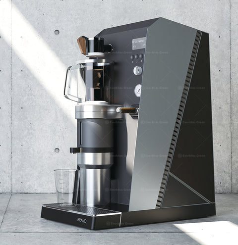 k.  Negative pressure coffee machine