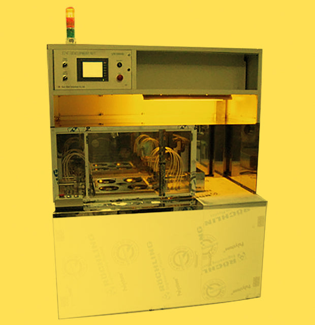 f.  3. 4-inch programmable display fixing machine
