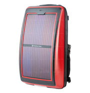 s.  Infinity solar photovoltaic backpack red