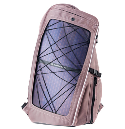 b.  Shark Solar Backpack Pink