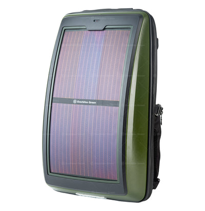 n.  Infinity solar photovoltaic backpack Army Green