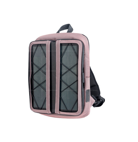 w.  Vivid diagonal shoulder bag Pink