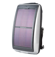 p.  Infinity solar photovoltaic backpack Hair silver