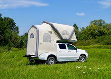 Load image into Gallery viewer, GT Pickup Taco Tent when inflated and deployed