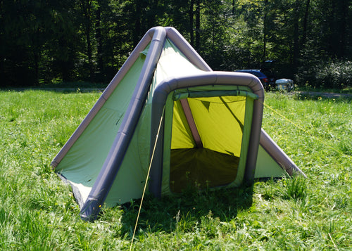 Inflatable GT Tipi interior height of over 8 feet