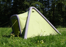 Load image into Gallery viewer, side view of GentleTent inflatable Tipi