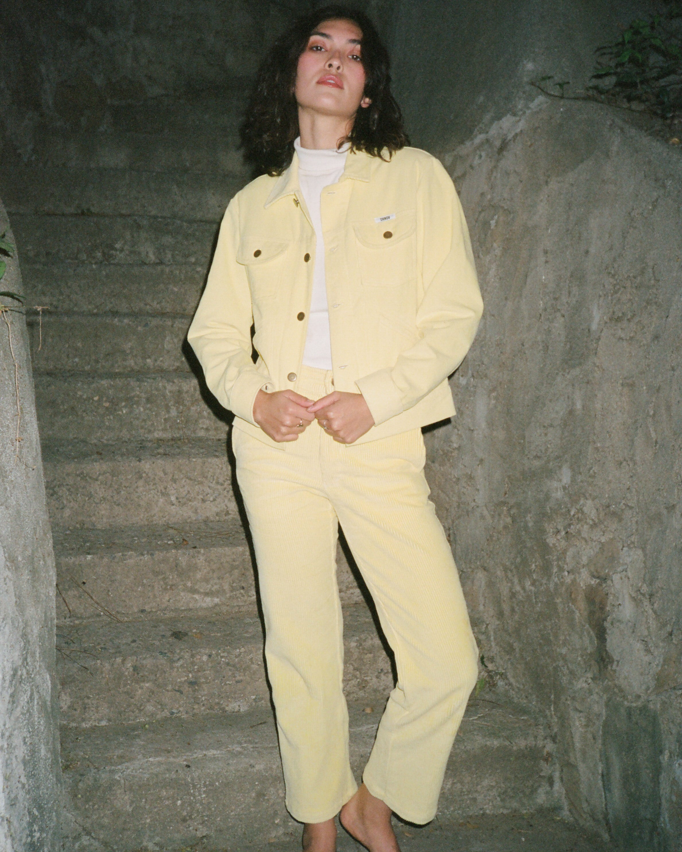 The Dandy Suit in Mellow Yellow