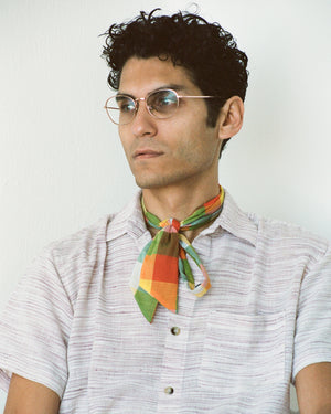 Everyday Scarf in Rainbow Madras