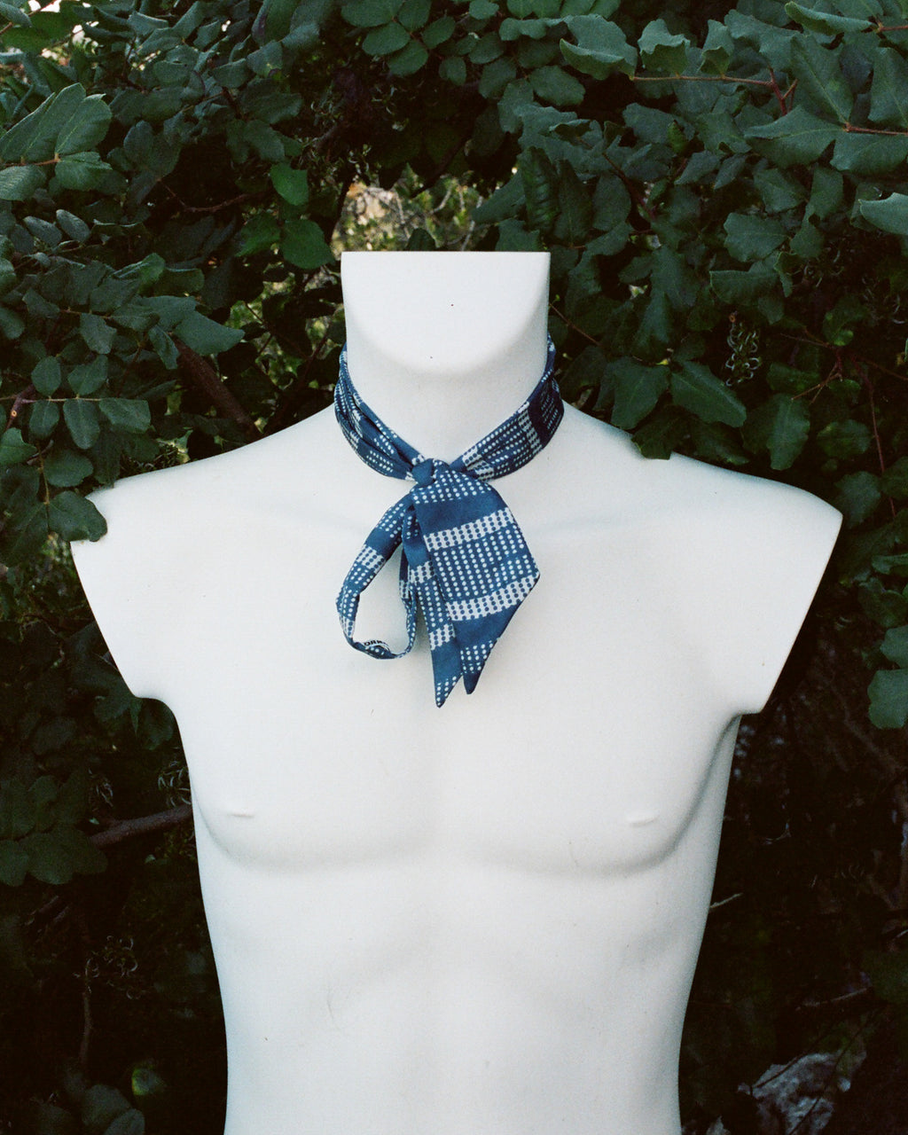 Silk Scarf in Rocketman Blue