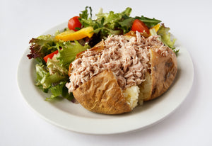 Baked Potato with Tuna Mayo