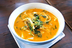 Thai Style Butternut and Coconut Soup