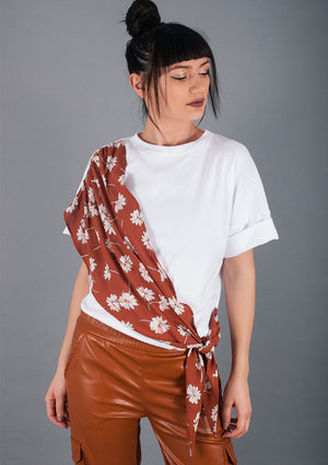 Tricou Country Brown
