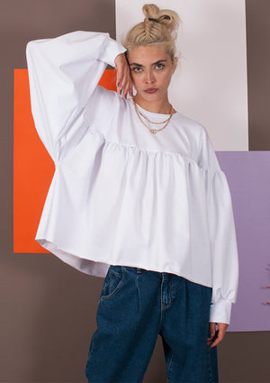 Bluza Doll White