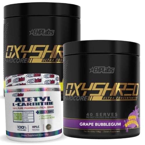 EHPLabs Oxyshred Hardcore Twin Pack Plus