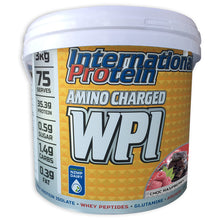 Load image into Gallery viewer, International Protein Amino Charged WPI 3kg