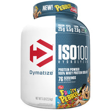 Load image into Gallery viewer, Dymatize Nutrition ISO 100 5lb