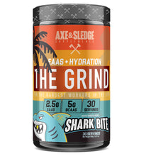Load image into Gallery viewer, Axe & Sledge The Grind EAA BCAA + Hydration 30 Serves