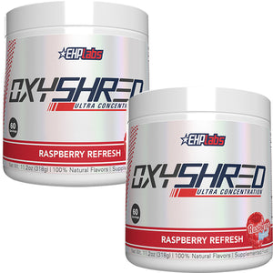 EHPLabs Oxyshred Raspberry Refresh Twin Pack