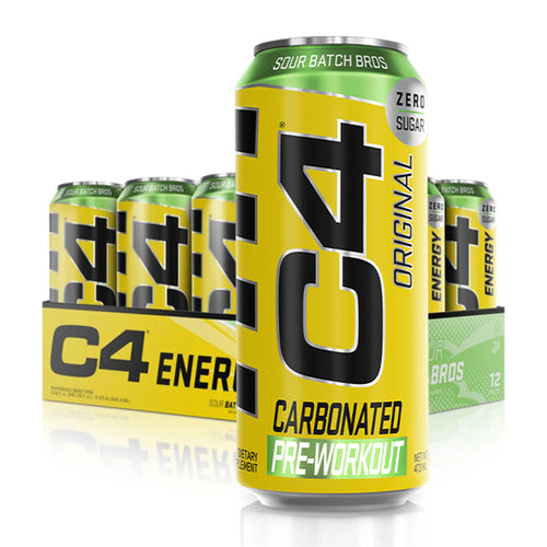 Cellucor C4 Pre-Workout Carbonated OTG Drink 12 Cans