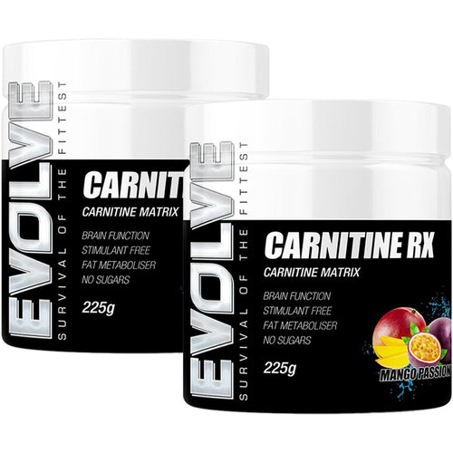 Evolve Nutrition Carnitine RX Twin Pack