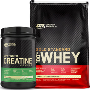 ON Gold Standard Whey 10lb + Creatine 228 Serves
