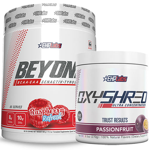 EHPLabs OxyShred + Beyond BCAA Stack