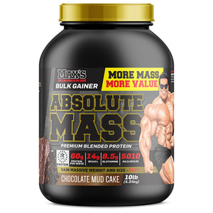 Max's Absolute Mass Whey Protein Powder 10lb