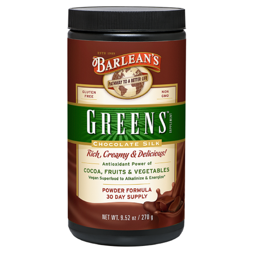 Chocolate Silk Greens