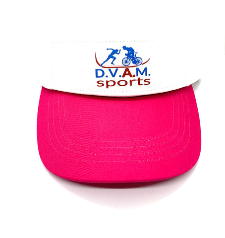 Two detachable Visors Pink & White (Combo Bundle)