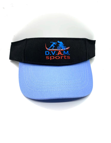 Two detachable Visors Black & Blue (Combo Bundle)