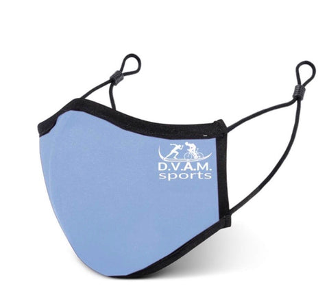 Blue Sports Face Mask