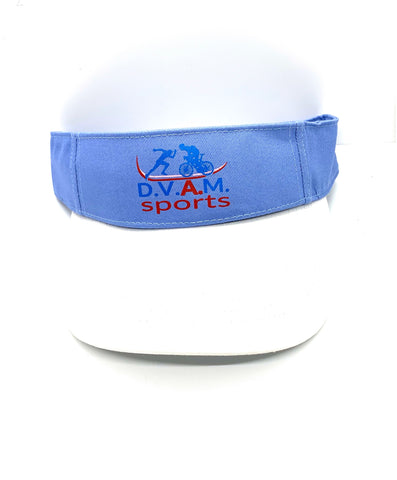 Two detachable Visors Blue & White (Combo Bundle)