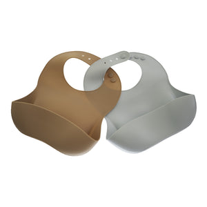 Aries Silicone Bib Set