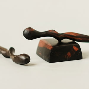 Ebony Hair Stick Stand no. 120
