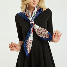 Load image into Gallery viewer, Women's color matching elegant scarf
