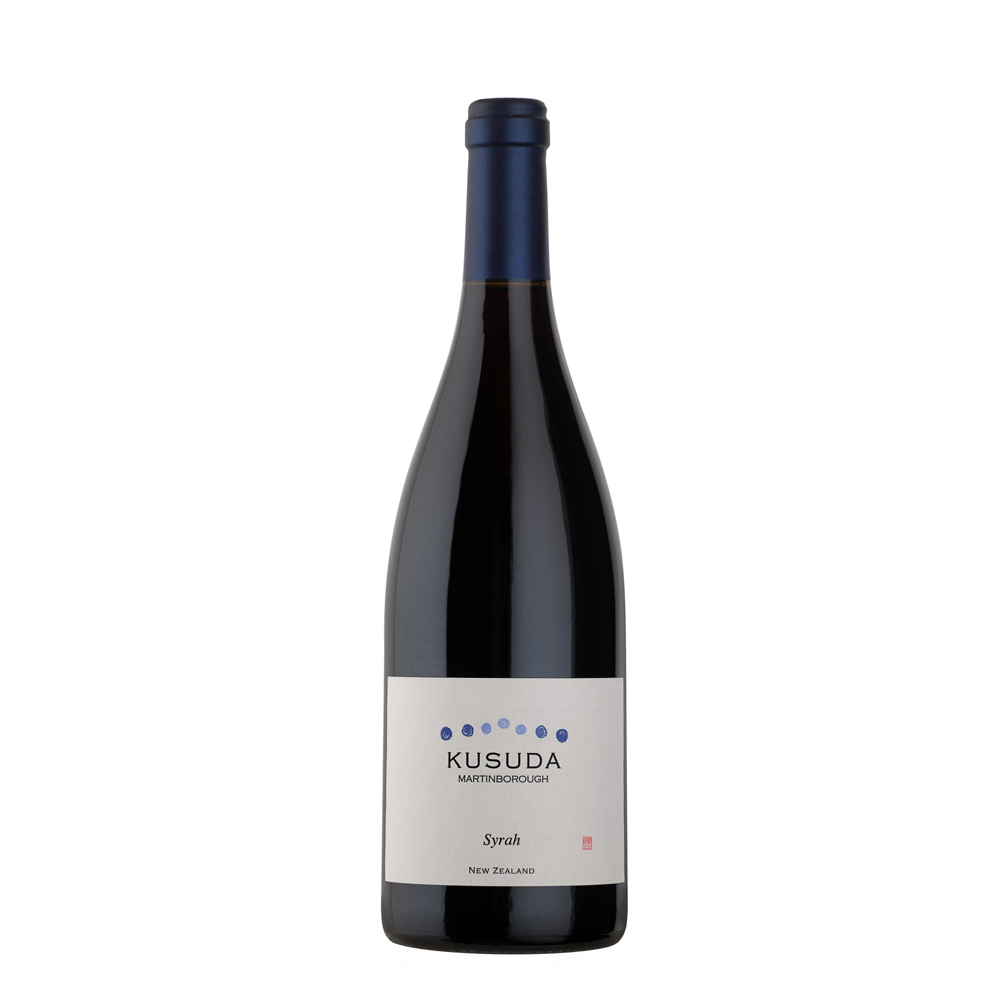 Kusuda Martinborough Syrah 2010 750ml