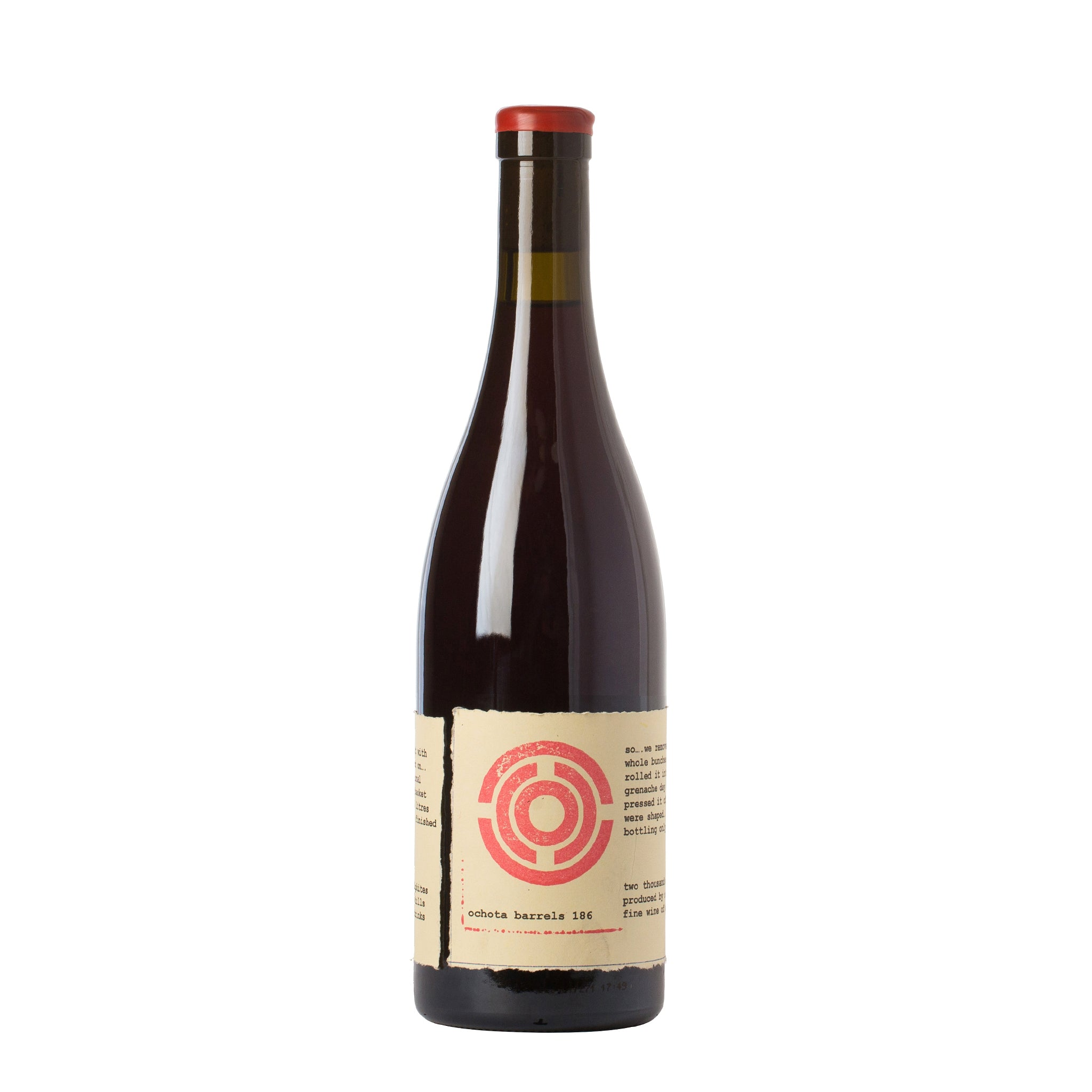 Ochota Barrels 186 One Eight Six McLaren Vale Grenache 2014 750ml