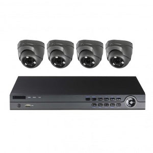 COMMERICAL 4CH 4 CAMERA 5MP TVI SECURITY CAMERA KIT