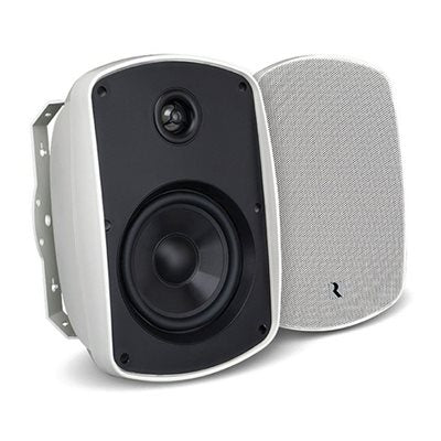 "Russound 5.25"" Outdoor 2-Way Loudspeakers (white or black, pair)"