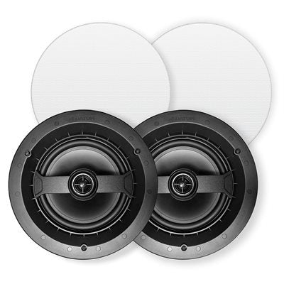 "Red Atom 8"" Round In-Ceiling Speakers (pair)"