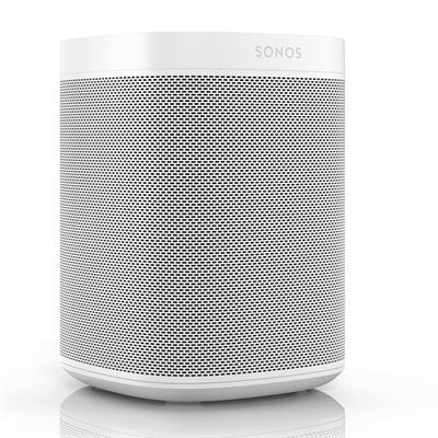 Sonos One Voice Controlled Speaker Gen 2 (single, white or black)