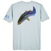 Trout Short-Sleeve Dry-Fit Shirt