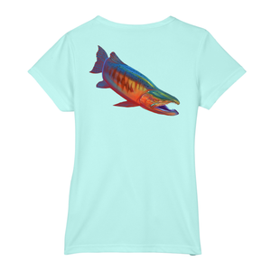 Salmon Short-Sleeve Dry-Fit T-Shirt