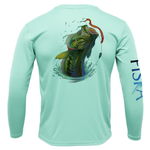 Youth Bass Long-Sleeve Dry-Fit Shirt