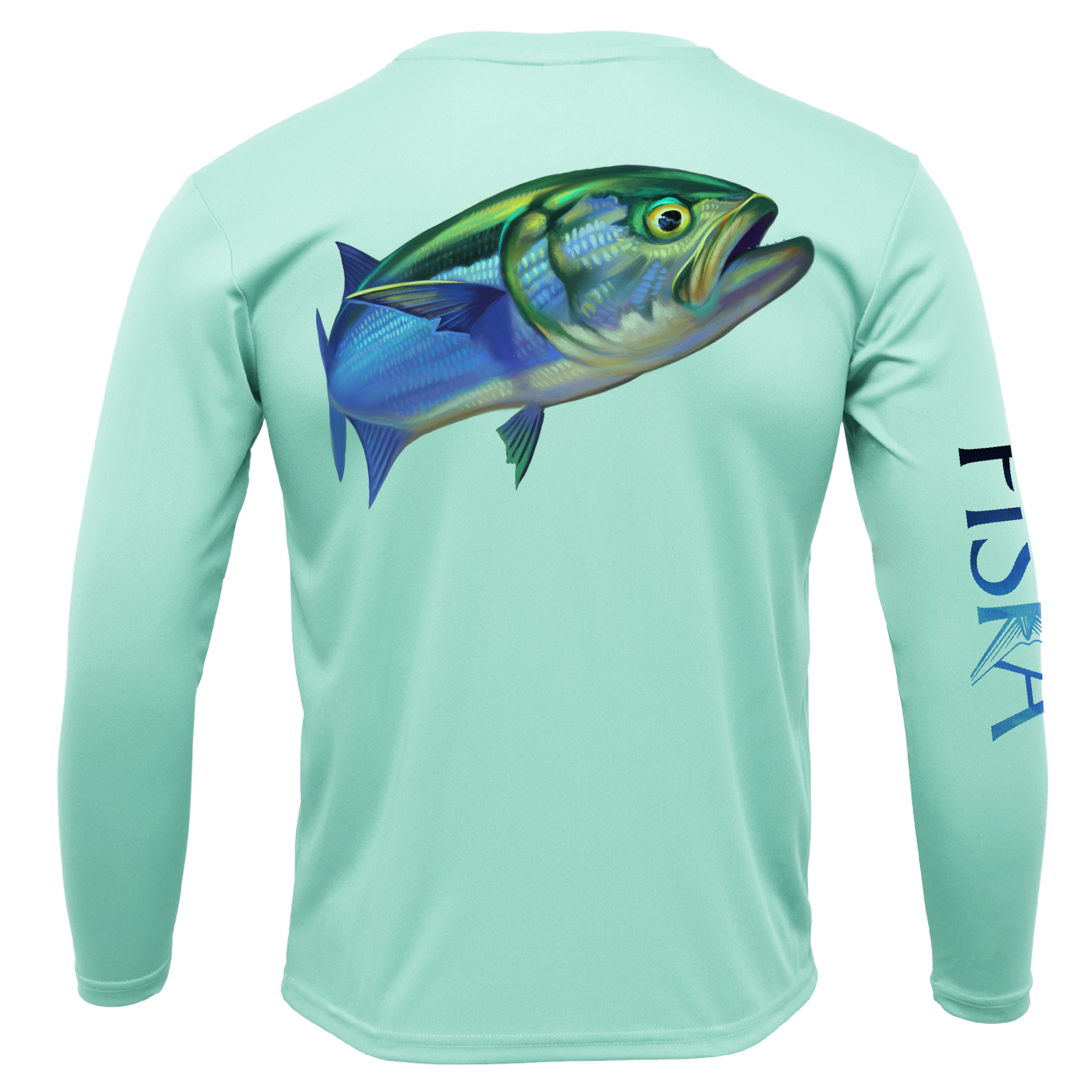 Youth Bluefish Long-Sleeve Dry-Fit Shirt