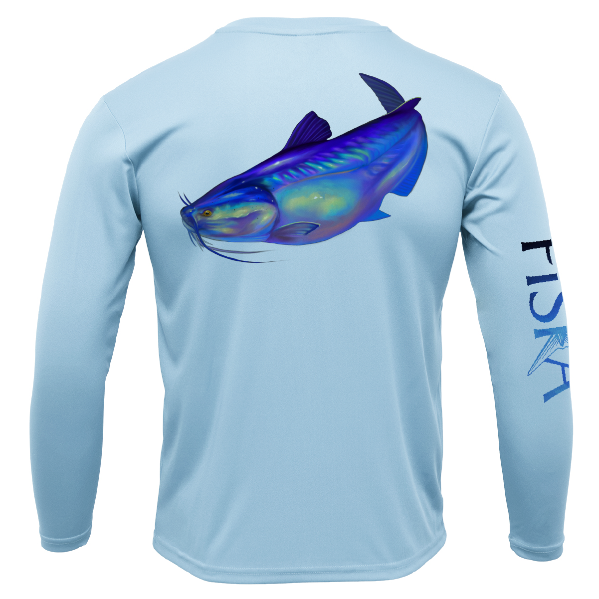 Youth Catfish Long-Sleeve Dry-Fit Shirt