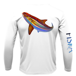 Youth Cobia Long-Sleeve Dry-Fit Shirt